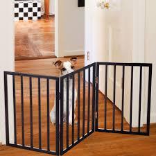 pet room ideas cool metal freestanding portable pet gate design with wooden floor