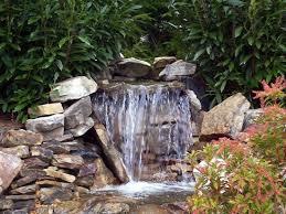 Backyard Waterfall Ideas Garden Design Garden Design With Waterfall Designs For Your