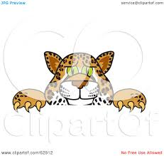 jaguar clipart royalty free rf clipart illustration of a cheetah jaguar or