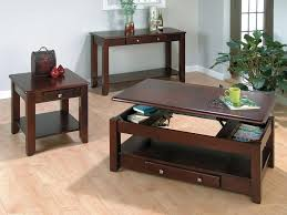 End Table Lamps For Living Room End Table Ideas Storage Tier Bottom Of Glass Top Brown Leather