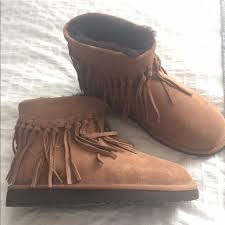 ugg wynona sale 13 ugg shoes brand ugg wynona fringe booties from