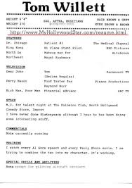 free acting resume template free actor resume template best