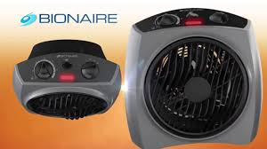 bionaire bfh2242m s forced air heater with rotating grill silver