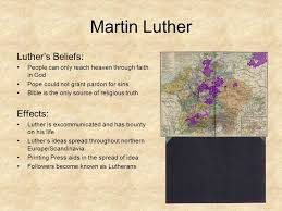 luther s the protestant reformation ppt online