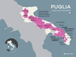Map Of Southern Italy by Puglia Wine Is Italy U0027s Secret To Value Wine Folly