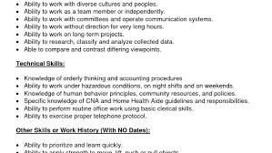 resume nice cna resumes 1 cna resume sample stunning resume for