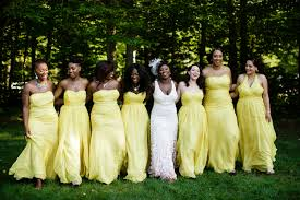 Yellow Dresses For Weddings Ghanaian Wedding In Massachussetts With Kente Theme Claudette
