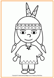 pilgrim boy book pilgrim boy and girl outlines american boy colouring page