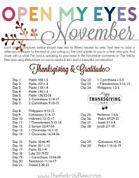 scripture writing november thanksgiving and gratitude digging
