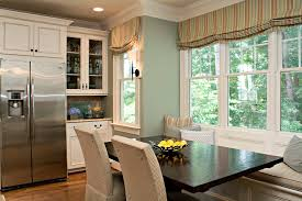 kitchen curtains valances kitchen traditional with banquette