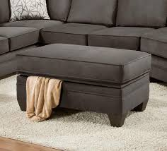 Storage Ottoman American Furniture 3810 Storage Ottoman For Sectional Sofa