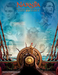 narnia film poster the chronicles of narnia the voyage of the dawn treader movie poster