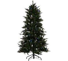 fraser fir tree santa s best 7 5 grand fraser fir tree w ez power 8 light