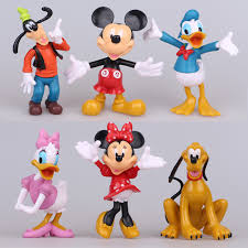 aliexpress buy disney toys 6pcs lot mickey mouse action