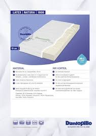 kindermatratze 90x200 test dunlopillo natura 1600 natur latex matratze im vergleich