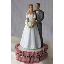 and groom wedding cake toppers antique silk and rhinestones american and groom