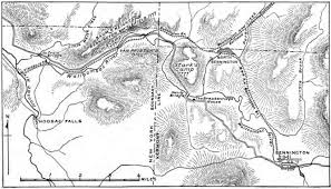Robert H Treman State Park Map by Bennington Battlefield State Historic Site Wikiwand