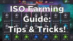 Cuu Cuu Clock Iso Farming Guide Tips Tricks And Advice Marvel Contest Of
