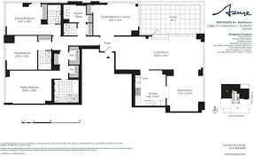 The Azure Floor Plan by Corcoran The Azure 333 East 91st Street Upper East Side Real