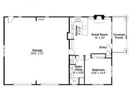 garage floor plans with apartments garage apartment plans 1 story garage apartment plan with 2 car