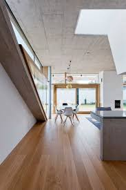 concrete ceiling 146 m2 modern two bedrooms house concrete rectangular architecture