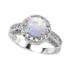 engagement rings that are not diamonds opal engagement rings that are not diamonds engagementring ideas