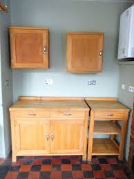 habitat oliva solid beech free standing kitchen units for sale