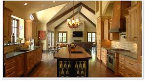 stunning inspiration ideas open country kitchen designs modern