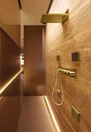 four seasons hotel spa milano patricia urquiola bathes with gold