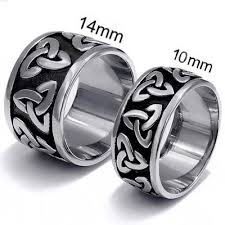 celtic wedding band celtic wedding bands stainless steel viking rings for men and