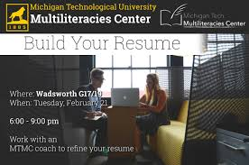 Build Your Resume Build Your Resume Humanities