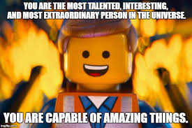 Lego Movie Memes - lego movie emmet memes imgflip