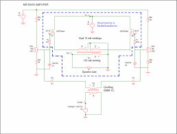 Transformer Coupled Transistor Amplifier Schematic Mosfet Amp Transformer Output The Paper Horn By Inlow Sound