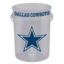 shop wincraft sports dallas cowboys 5 gallon plastic bucket at