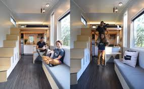 Shed Modern Tiny House On Wheels With Space Saving Interiors