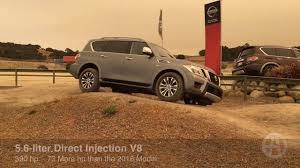 2017 nissan armada can it go off road youtube