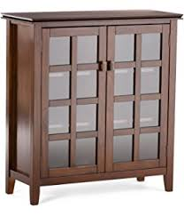 amazon com baroque brown accent cabinet with tile inlay kitchen