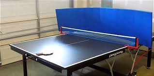 table tennis and ping pong play the game yourself with table tennis return board