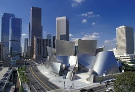 modern town los angeles california walt disney concert hall