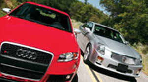 audi rs4 review 2006 2006 audi rs 4 vs 2006 cadillac cts v to motor trend