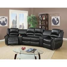 Home Theater Sofa by Hollywood Decor Auvinya Reclining Home Theater Sofa Set In Bonded