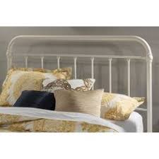 Twin Headboard Size by Twin Size White Metal Headboard With Bow Top And Clean Lines