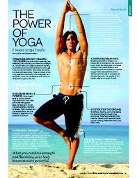 7 ways yoga heals u201d by grace van berkum in sweat equity magazine