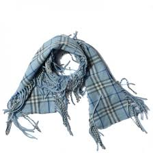 light blue burberry scarf burberry cashmere check happy fringe scarf light blue 109321