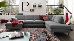 Wohnzimmer Modern Hell Trösser Markenshops Musterring Mr 365 In Grau Stoff Smoking