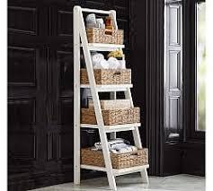 Bathroom Ladder Linen Tower Bathroom Storage Pottery Barn