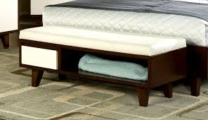bed foot bench verona ottoman blanket box storage bench faux