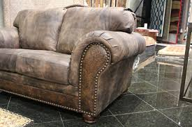is livingroom one word one word can describe the detailing in this embossed leather sofa
