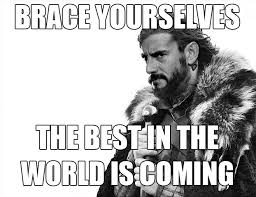 Wrestlemania Meme - brace yourselves cm punk game of thrones meme wwe wrestlemania
