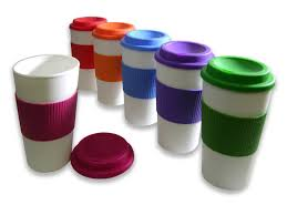 amazon set of 6 reusable to go travel mugs with grip 71 off